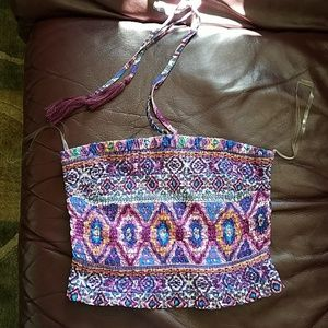 Womens Halter Top, size Small